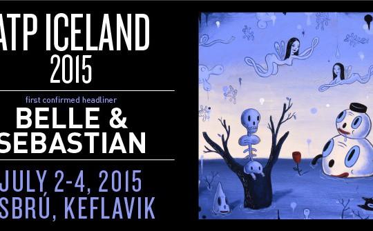 Belle and Sebastian aðalnúmerið á ATP 2015