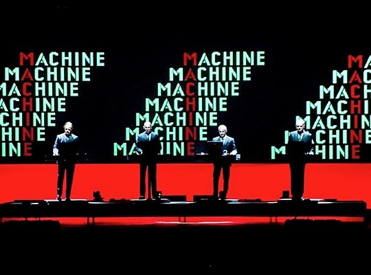 Kraftwerk á Iceland Airwaves